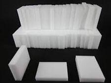 100 Pack WHITE Cleaning Magic Sponge Eraser Melamine Multi-functional Foam