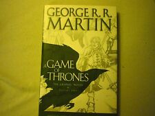 A Game of Thrones The Graphic Novel Volume 2 George RR Martin 1st Signed HC