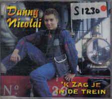 Danny Nicolai-ik zag je in de trein cd maxi single