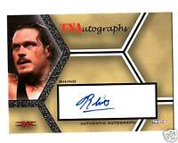 TNA Rhino TriStar Impact Authentic Autograph Signed Card 2008 DWC3