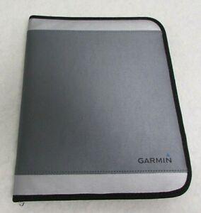 GPS Manual Case Gray Electronics Holder Two-Way Zipper Closure GARMIN AH11