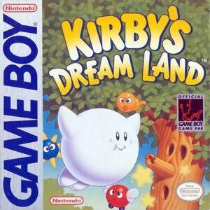 Kirby's Dream Land Nintendo Game Boy