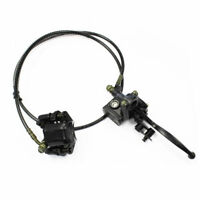 Rear Brake Caliper System for 50cc 70cc 110cc 125cc Quad ATV Buggy Bike