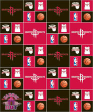 NBA Houston Rockets Block Cotton Fabric