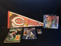 Cincinnati REDS Mcfarlne Adam Dunn  LOT  Starting Lineup Ken Griffey Jr Crosley