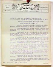 1924   ITINERAIRE MICHELIN  HOUFFALIZE   SPA   CARTE BIBENDUM