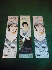Enya - A Day Without Rain - Original Promo Bookmarks - Set Of 3