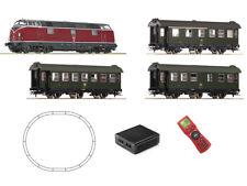 Roco 51316 Digital Startset Diesellokomotive BR 221 mit Personenzug DB H0