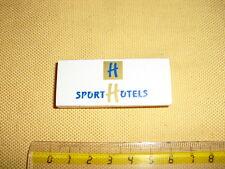 "POCHETTE D'ALLUMETTES Publicitaire ""Sport Hotels"" Andorra"