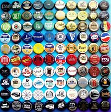 100 BEER CIDER SODA Bottle Caps Free shipping