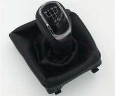5 Speed Manual Gear Shift Knob Gaiter Boot Cover Case For Skoda Octavia II 09-12