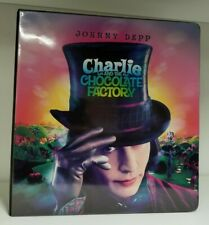 Charlie and the Chocolate Factory Movie Trading Card Binder With exclusive Promo