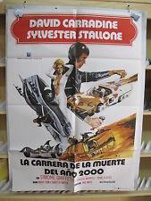 A197         CARRERA DE LA MUERTE AÑO 2000 AUTOMOVILISMO PAUL BARTEL STALLONE