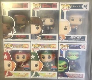 Funko Pop! Lot of 6 - Cochise Luther Gunther Cling & Clang Skeletor - New In Box