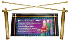 Dowsing Rods Brass | Water & Energy Divining L Rods  Wiccan Raymond Buckland