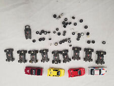 Tyco Slot Car Chassis Parts Lot