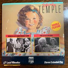 Laser Disc ~ Shirley Temple ~ x2 Feature ~ The Little Colonel ~ Sunnybrook Farm