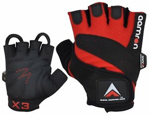 Aamron ® M2B GEL Weight Lifting Gloves Body Building Gym Cycling Training Mens