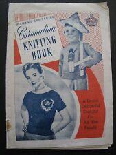 Woman's Companion CORONATION KNITTING BOOK (1953)