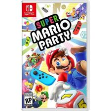 Super Mario Party - Nintendo Switch! Free Shipping! 10/5/18 Release