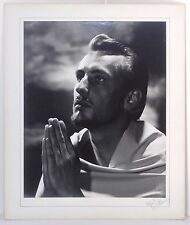 1960s Black and White Photograph of Jesus by Alfred Taylor Cinematographer 16x20
