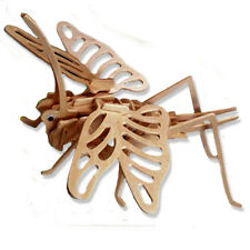 """3-D Wooden Puzzle - Grasshopper - Gift Item """"Brand New"""""""