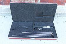 "Excellent Condition Starrett 749 Digital Micrometer Depth Gauge 0""-6"""