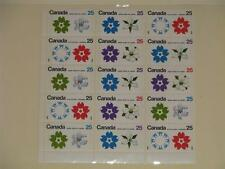 Canada-Japan Expo 1970, Scott# 508-11, 2 Blocks of 4-7 singles, MNH