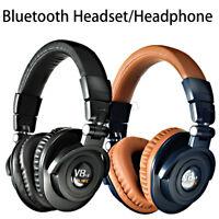 Wireless bluetooth Headphone Foldable Headset Stereo Bass Earphones Handfree Mic