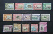 British Virgin Islands 1964 - 68 set to $2.80 LMM SG178 - SG192 $1.40 $2.80 MNH