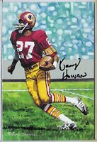 Redskins KENNY KEN HOUSTON 26/100 autograph signed Goal Line Art Gold Seal auto