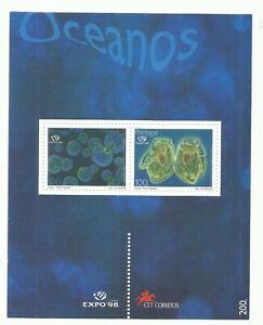 Portugal 1998 - EXPO'98, Oceans, Plâncton S/S MNH