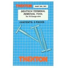 Thexton 583 Deutsch Terminal Removal Tools for 16 Gauge Wire