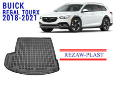 Trunk Mat For Buick Regal TourX 2018-2022 Rear Rubber Cargo Liner Tray Black