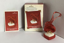 """Hallmark """"Our First Christmas Together"""" Ornament"""