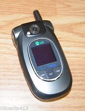 LG VX8300 - Gray (Verizon) 1.3MP CDMA Cellular Flip Phone w/ Battery Cover *READ