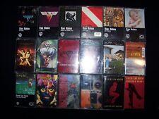 Cassette Van Halen & David Lee Roth 19 Heavy Metal lot tapes Single 1984 5150