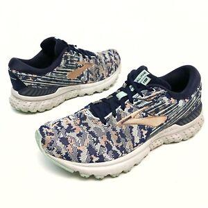 ✅❤️✅@ Brooks Adrenaline GTS 19 Women's Running Shoe10B Eu42 Blue/Copper Athletic