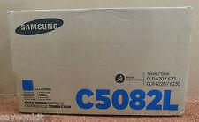 New Genunine Samsung CLT-C5082L Cyan Toner Cartridge CLX-6220/6250 CLP-620/670