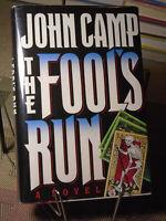 John Camp (AKA John Sandford), The Fool's Run , Signed, 1st Edition,1st Printing