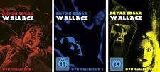 9 DVDs * BRYAN EDGAR WALLACE COLLECTION BOX 1 – 3 IM SET # NEU OVP §