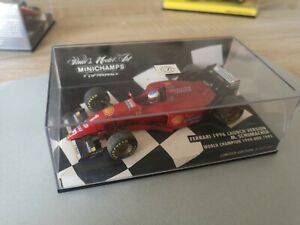 Michael Schumacher 4 Modelle 1:43 Ferrari  World Champion 94/95