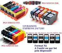 Set de cartuchos de tinta compatible para la impresoras Canon PIXMA serie