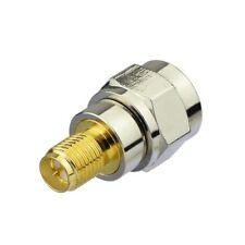 RP-SMA Female plug center To F TV Male Plug COAX RF coaxial Adapter Connector