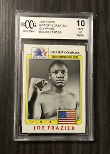 1983 Topps #98 Joe Frazier(Greetest Olympians) Graded BCCG 10