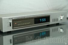 ►TEAC TT2◄AUDIO PROGRAM TIMER CLOCK OROLOGIO PROGRAMMABILE VINTAGE TOP !!