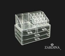 Clear Acrylic Make Up Organiser Storage Box (A2)