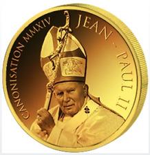 1500 Francs 2014 Bénin-Canonization of Jean Paul II au