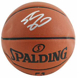 Lakers Shaquille O'Neal Signed Spalding Game Ball Series Basketball BAS #WC14550