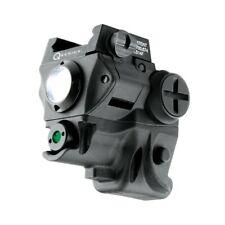 Tactical Rail Compact 60 LUMEN Light & Green Laser Combo Black iPROTEC NEBO